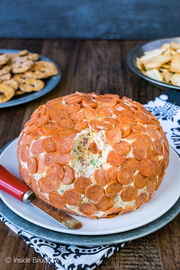 Loaded Pizza Cheese Ball