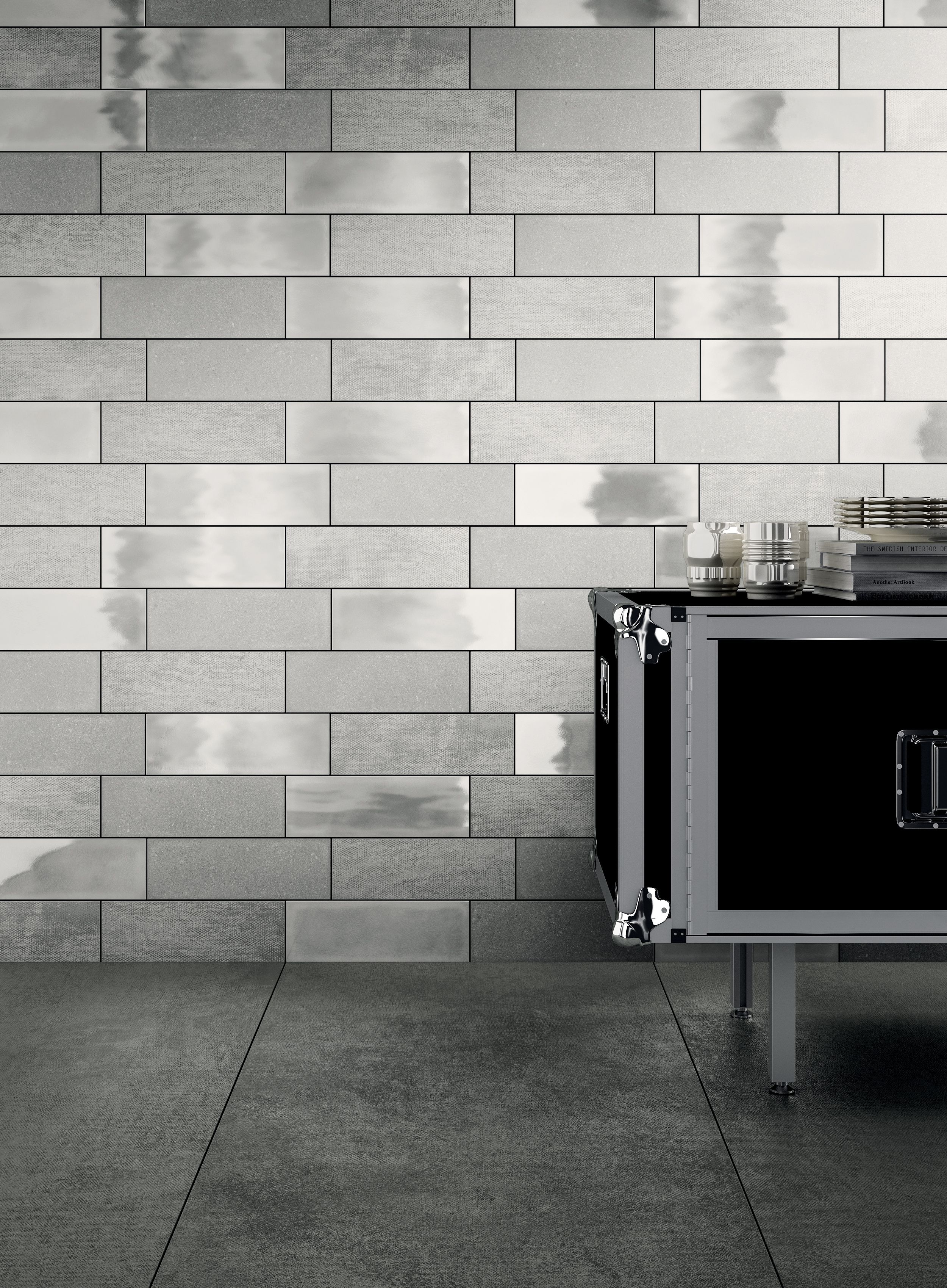 Wall iris ceramica diesel camp army canvasglazerock white 4 designed as part of the diesel living collection camp ceramic wall tile explores various finishes transposed from textiles for an industrial design with a dailygadgetfo Choice Image