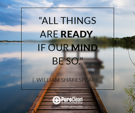 All Things Are Ready If Our Mind Be So William