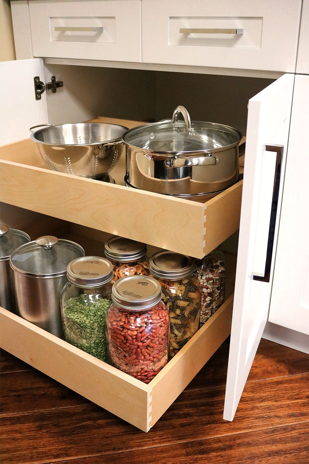 Latitude Cabinets - Roll-Out Drawers | Pantry cabinet ...