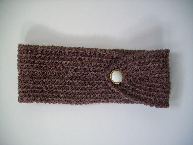 Easy Crochet Headband Pattern | Free Crochet Pattern: Easy and ...