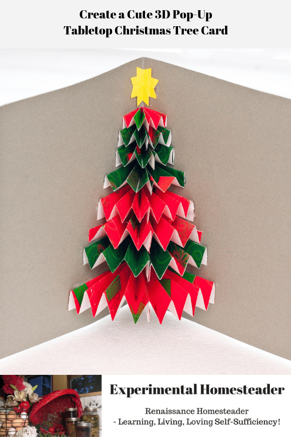 Create A Cute 3d Pop Up Tabletop Christmas Tree Card Christmas Tree Cards Handmade 3d Christmas Tree Card Christmas Tree Cards
