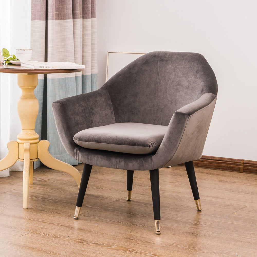 Dare To Add A Touch Of The Modernist Movement In To Your Home With Our Caelia Accent Chair This Statement Single Seat Sofa Fabric Accent Chair Accent Chairs