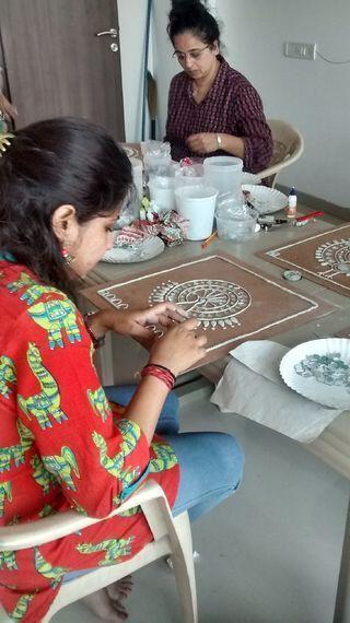 Lippan Kaam Clay Art of Gujarat