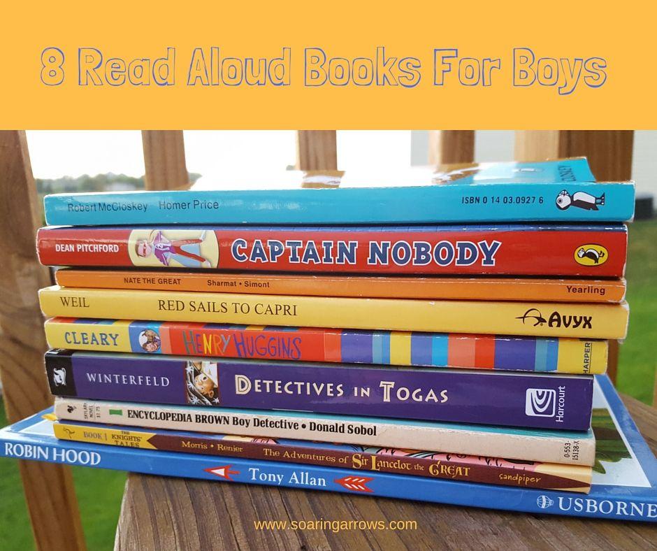 8 read aloud books for boys soaring arrows books for