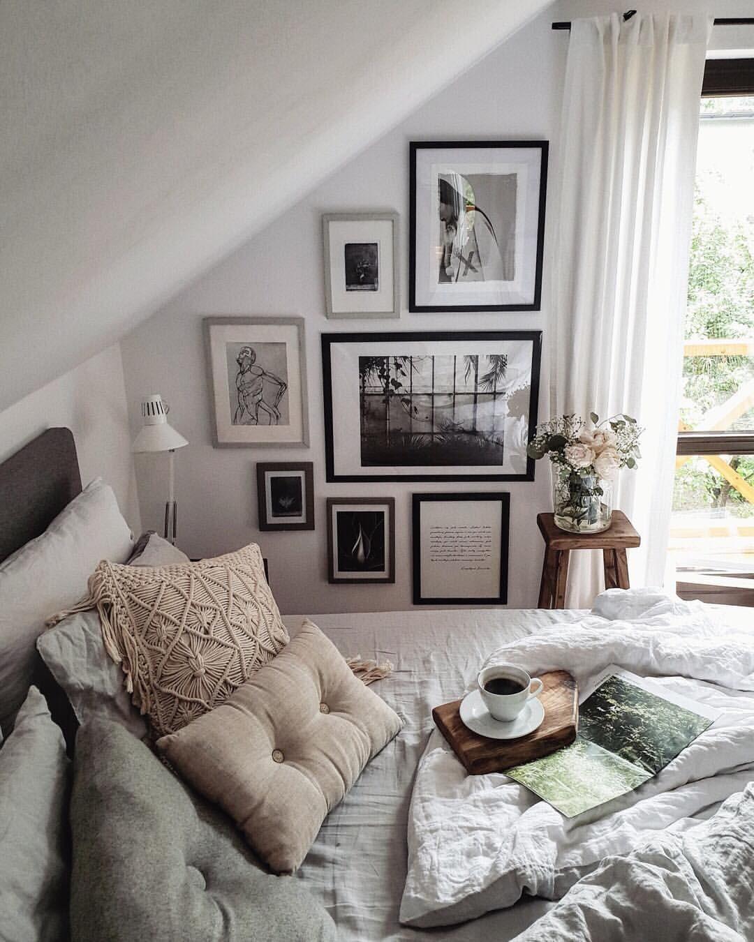 Wie Kuschelig Unter Der Dachschräge Bei Marzena Marideko Mywestwingstyle Schlafzimmer Einrichten Ideen Schlafzimmer Einrichten Zimmer Einrichten
