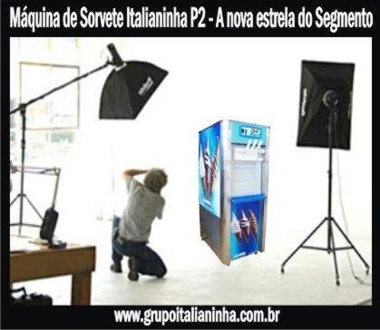 Máquinas de Sorvete Expresso Italianinha, líder em vendas no Brasil. www.grupoitalianinha.com.br