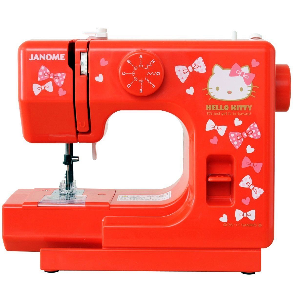 From Japan. Janome, Sew mini Hello Kitty Sewing Machine in