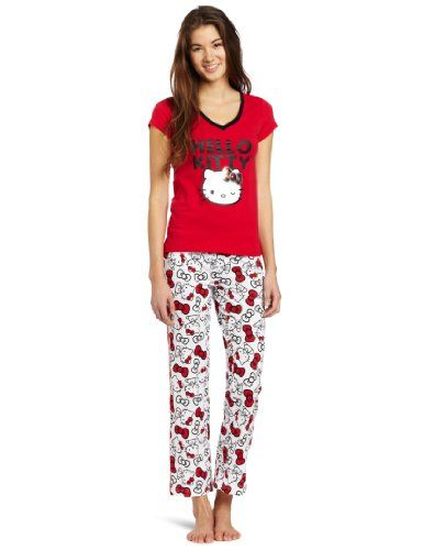 99bd7c08c Red All Over Hello Kitty Set Wear HK t Hello kitty Kitty