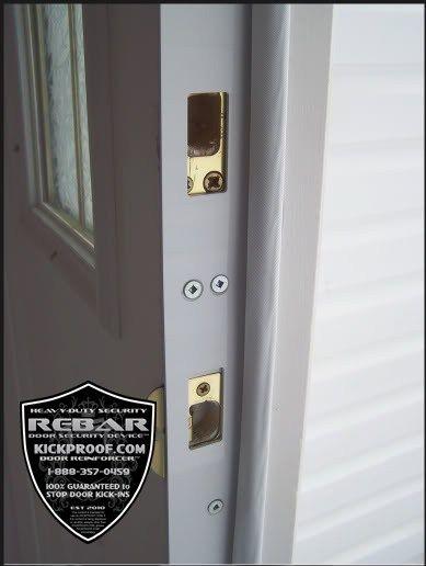 kickproof how to repair a kicked in door jamb door security door frame reinforcement fix a - Door Frame Reinforcement