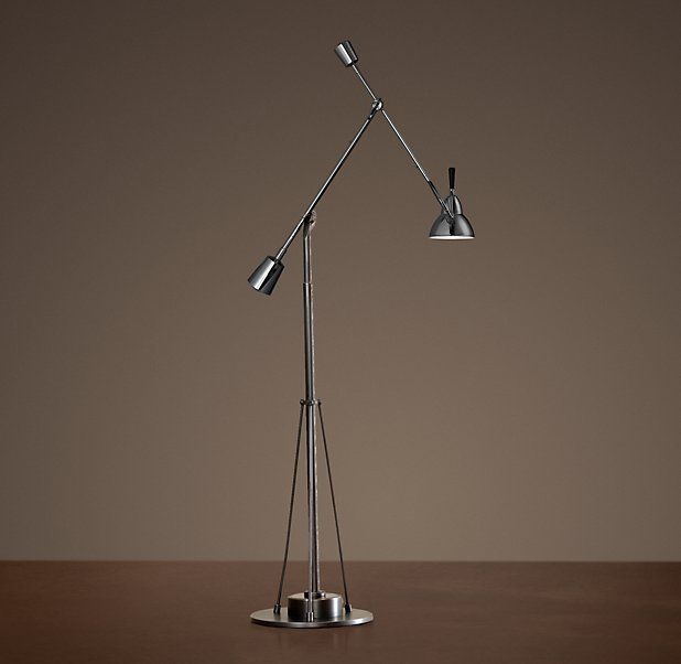 Counterpoise floor lamp from Restoration Hardware