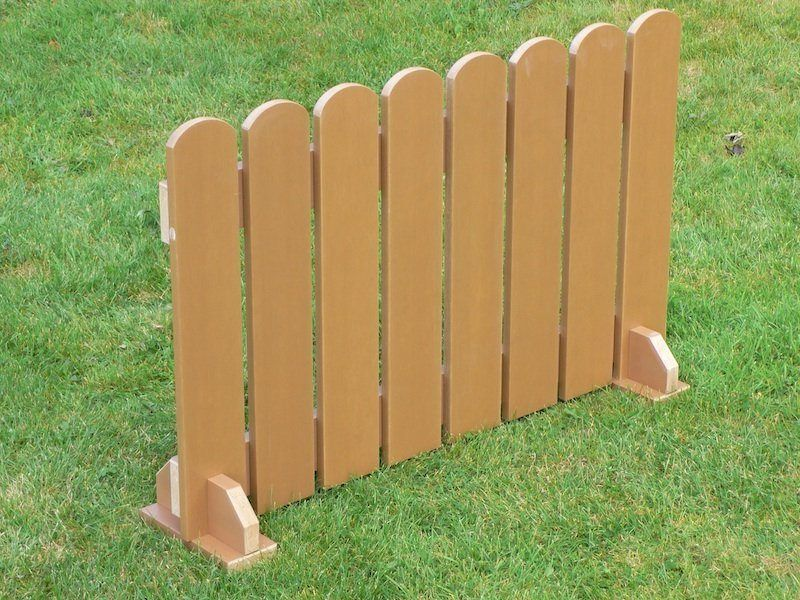 Fence Panels - Plastic garden fence  yes or no...
