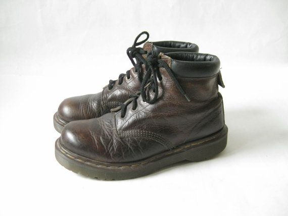 Vintage Doc Marten Made in England Lace Up by TimeBombVintage
