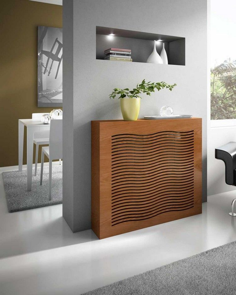 cache radiateur osez le bois afin de sublimer votre int rieur projets essayer pinterest. Black Bedroom Furniture Sets. Home Design Ideas