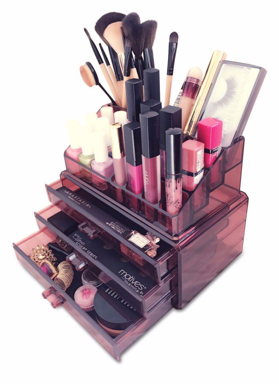 Oi Labels™ Acrylic MakeUp Cosmetics Jewellery Organiser