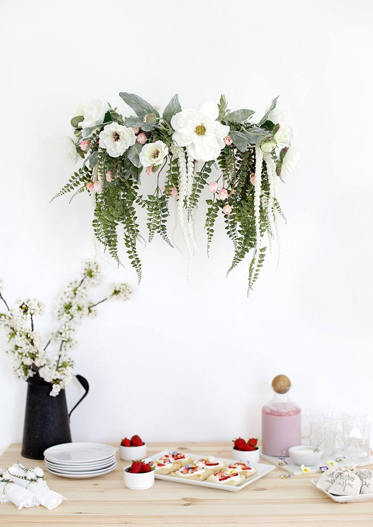 Diy floral chandelier floral chandelier chandeliers and floral diy floral chandelier arubaitofo Image collections