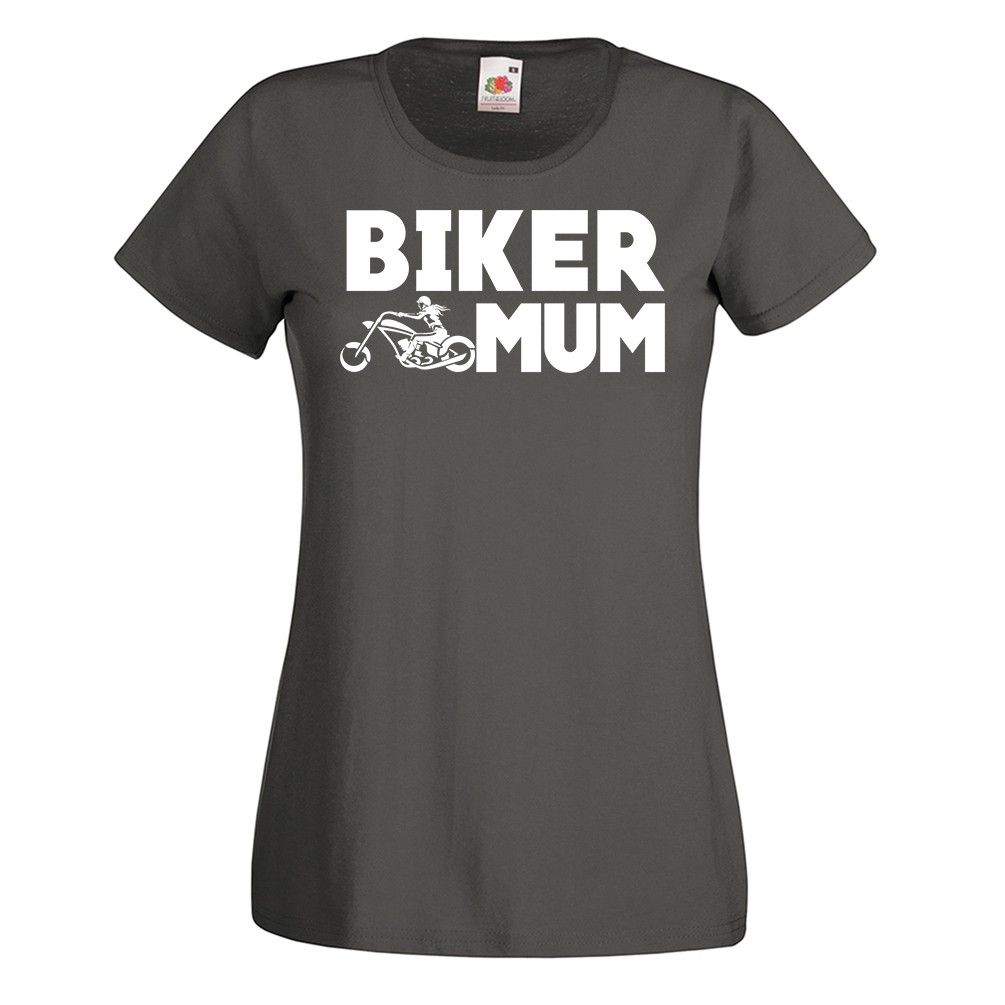 Biker Mum Basic T-shirt – Birthday Gift For Her