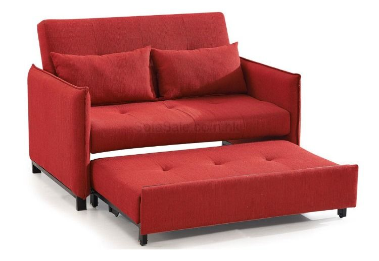 Compact Fabric Sofabed Upholstered Bed Frame Fabric Sofa Bed Upholstered Beds