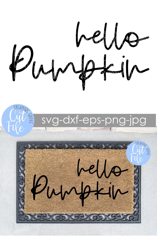 Hello Pumpkin SVG Svg, Fall design, Thanksgiving design