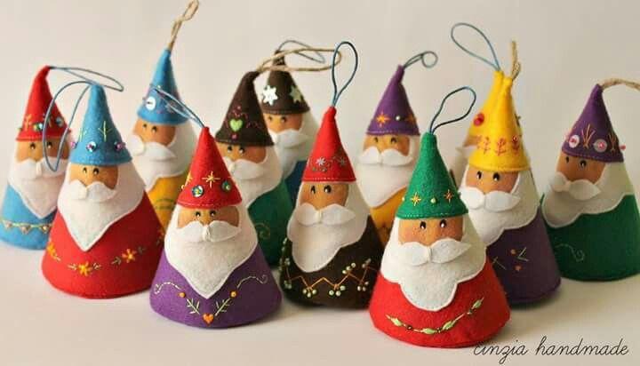 Felt gnomes