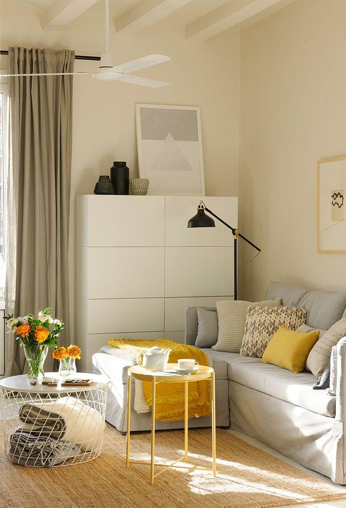Segunda clave muebles de doble uso decoraciones en 2019 - Ideas salones ikea ...