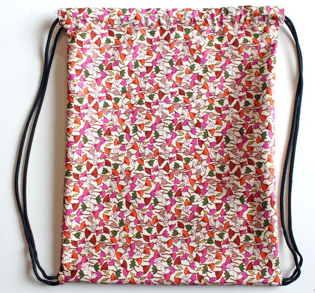 punk projects: Drawstring Backpack DIY | canta | Pinterest | Beutel ...