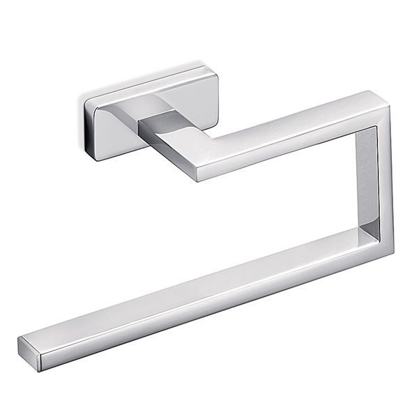 minimal crisp square bathroom accessories by italian inda product image