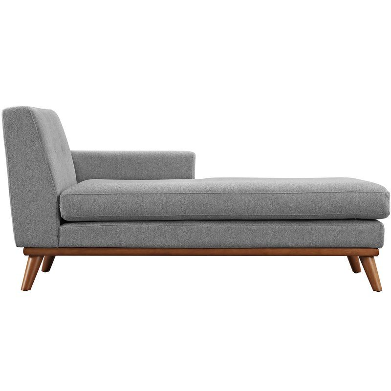 Langley Street Johnston Chaise Lounge Reviews Wayfair Chaise Lounge Modern Chaise Lounge Chaise Lounge Living Room