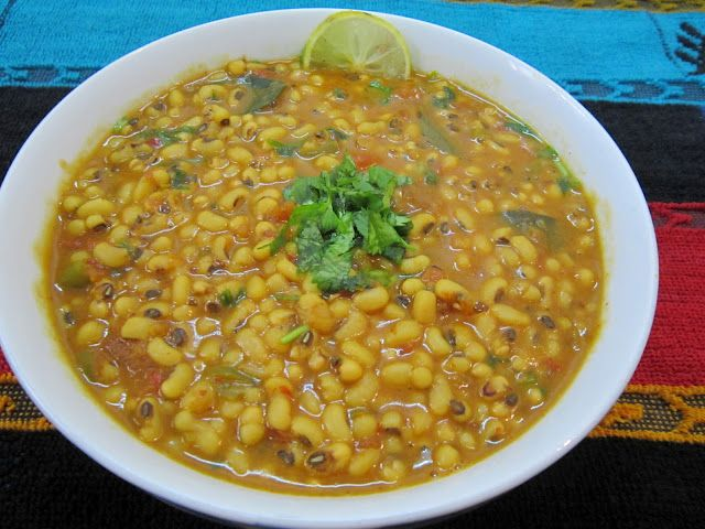 Healthy and delicious cow pea curry
