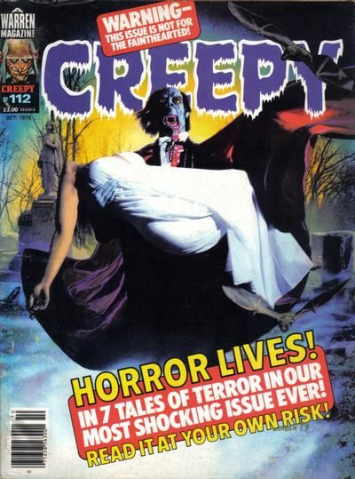 Cover for Creepy (Warren, 1964 series) #112 October 1979