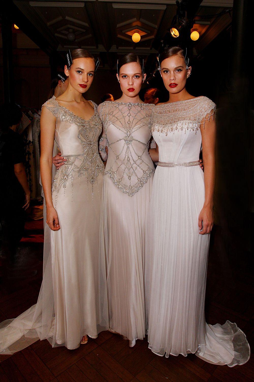 Art Deco vintage inspired Gwendolynne 'Elke, Phoebe and