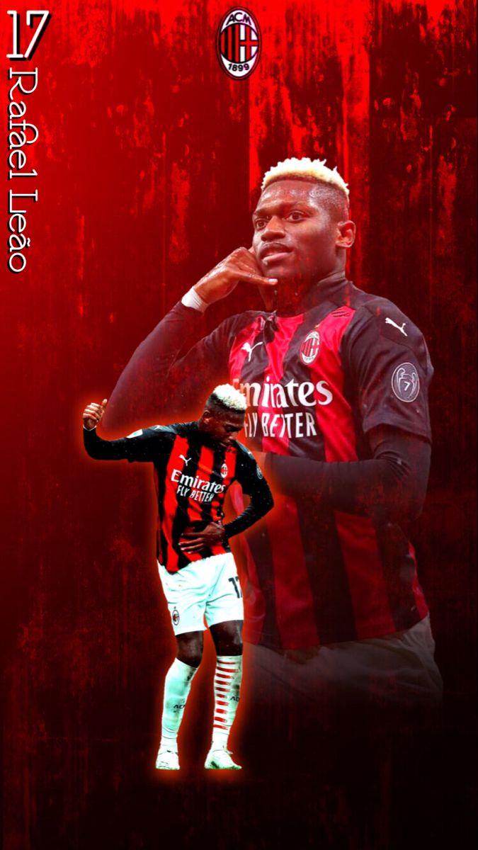 ラファエル レオン Rafael Leao Milan Ver 2 サッカー選手 選手 ラファエル