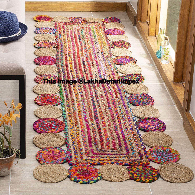Braided Hallway Runner Hand Woven Indoor Area Rug Living Room Area Carpet Kitchen Rug Bohemian Rug Runner In 2020 Braided Rag Rugs Braided Rug Diy Braided Area Rugs