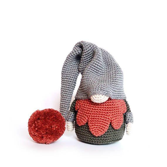 Fat GNOME Crochet Pattern / Scandinavian Gnome   Gonk en 2018 ...