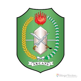 Provinsi Kalimantan Barat Logo Vector Cdr In 2020 Vector Logo Vector Custom Logos