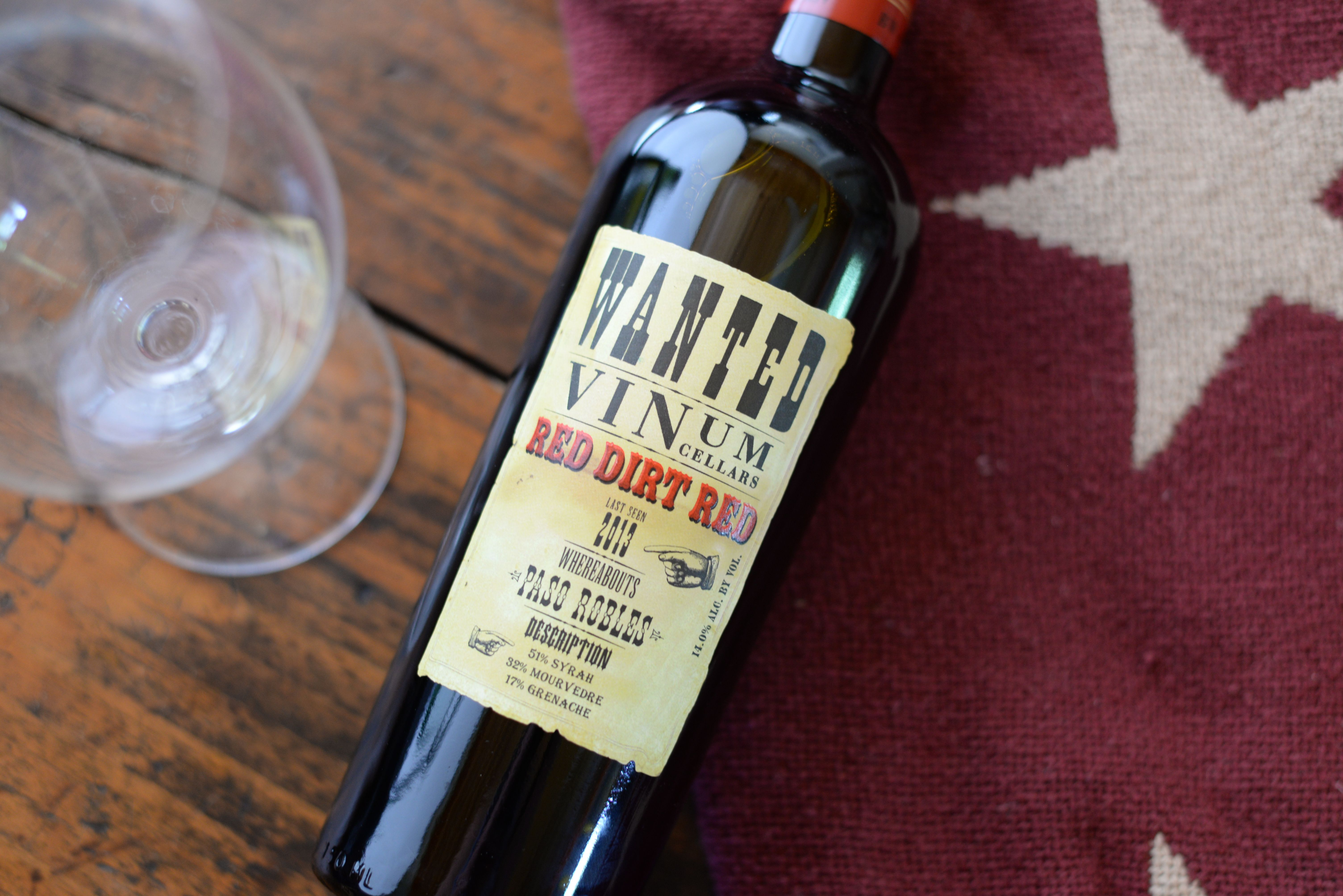Vinum Cellars Red Dirt Red The red Rhone blend from Paso Robles is aromatic with white pepper spice and ripe with sweet cherry and plum notes ... & Vinum Cellars Red Dirt Red The red Rhone blend from Paso Robles is ...