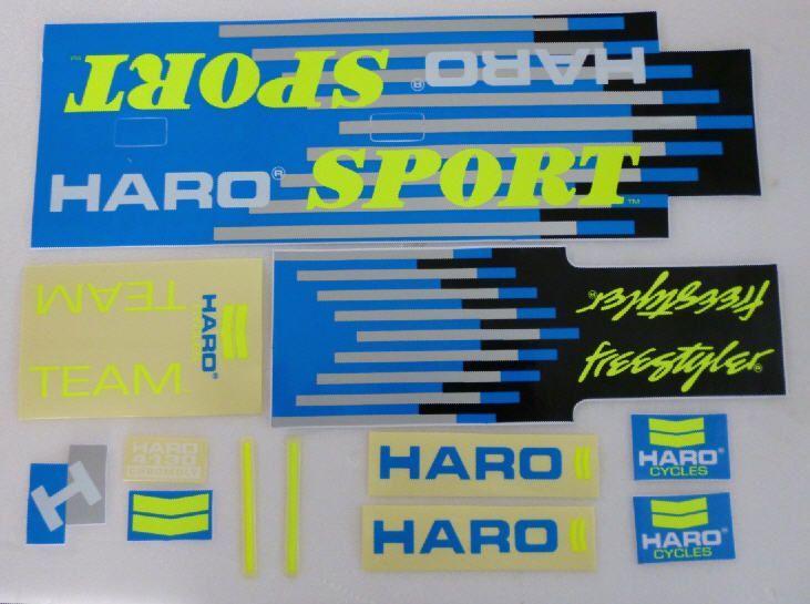 Details about  /Haro Sport decals