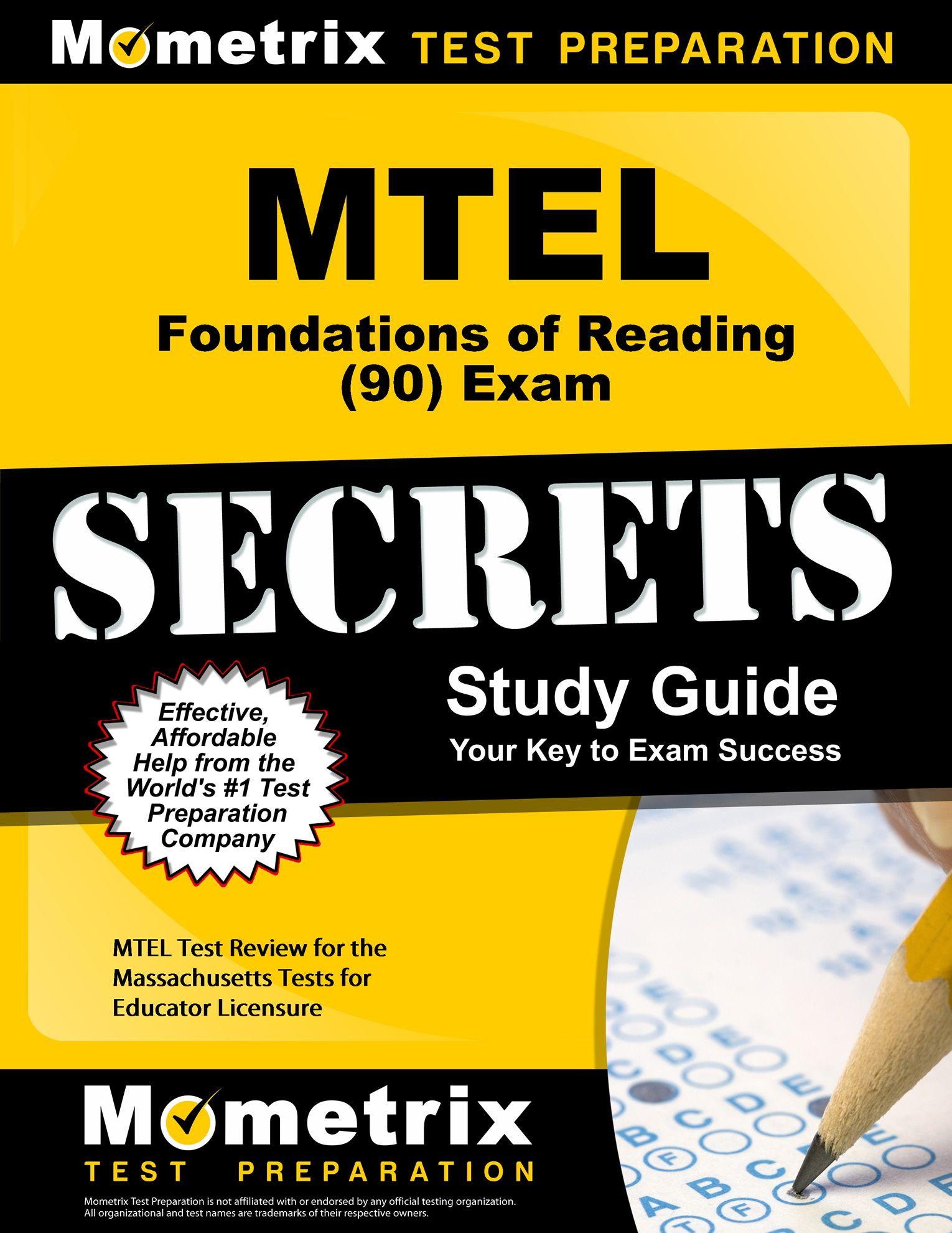 mtel foundations of reading 90 exam secrets study guide mtel test rh pinterest com Exam Study Tips SHRM Exam Study Guide