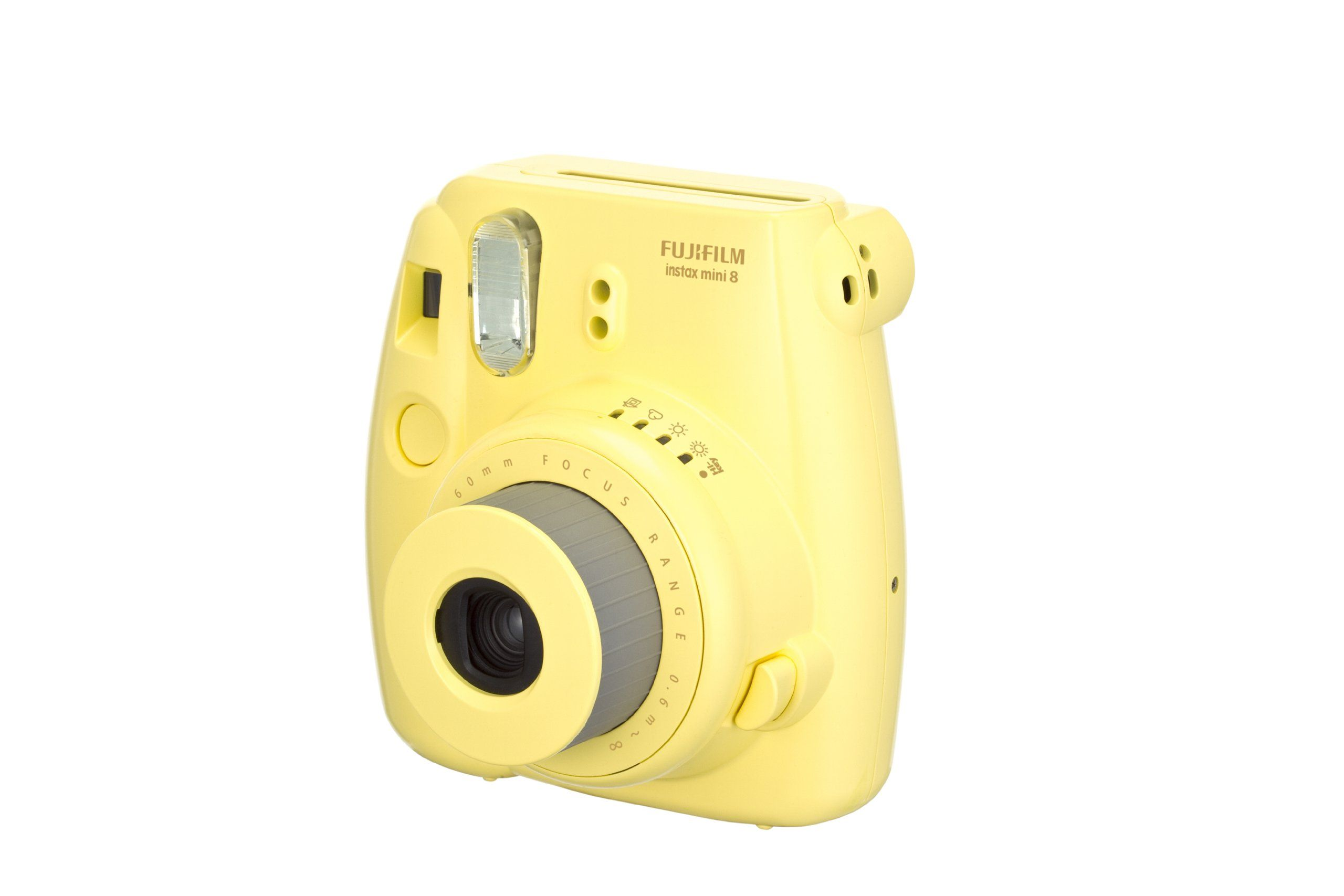 Amazon Com Fujifilm Instax Mini 8 Instant Film Camera Yellow