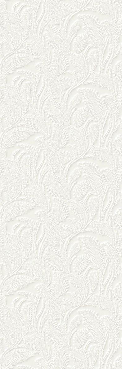MOSAÏQUES ET DÉCORÉES - LIZ WHITE 33,3X100 - 100173074