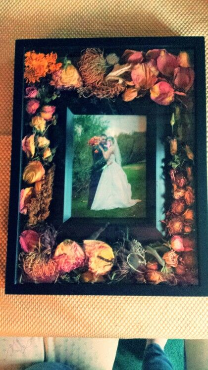 a great way to preserve your wedding bouquet