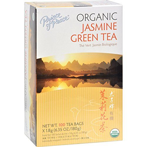 Prince of Peace  Organic Jasmine Green Tea  100 tea bags * Check this awesome product by going to the link at the image.