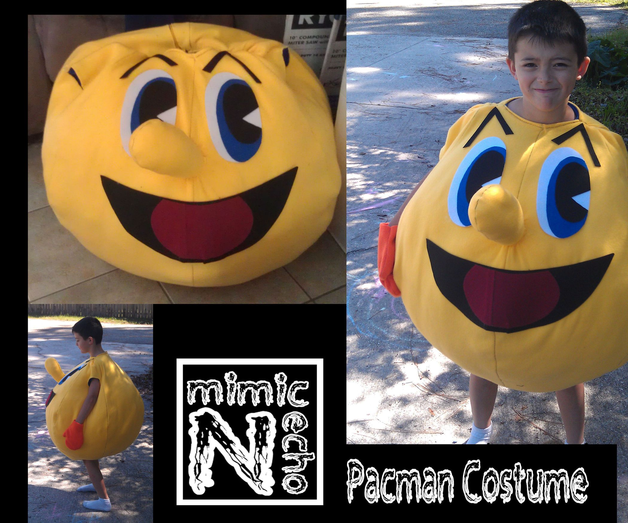 Pac man costume slutty halloween