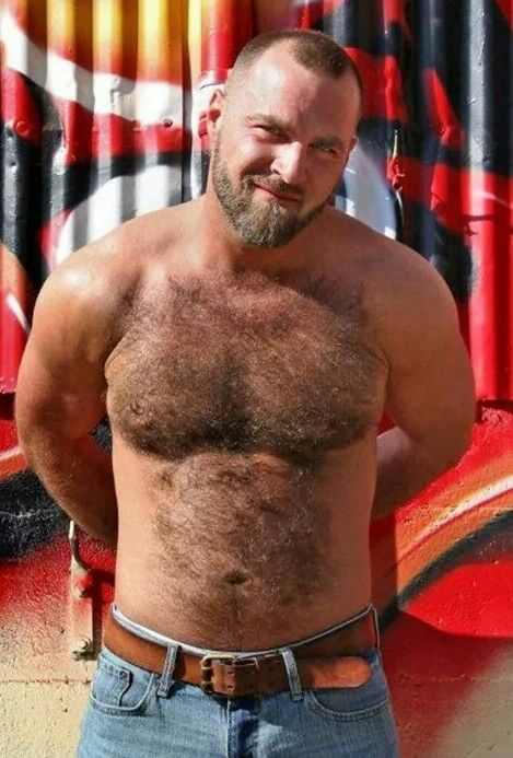 Hairy cub butts