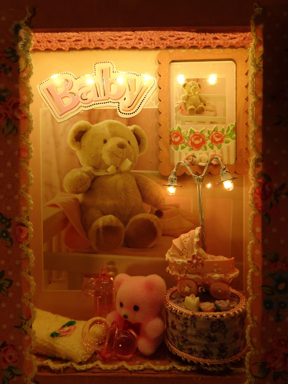 Pink Buggy Lightbox Lighting Home Decor