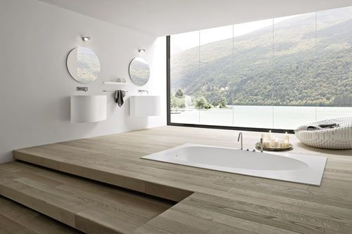 salle de bain contemporaine BOMA by Imago Design Studio Rexa Design