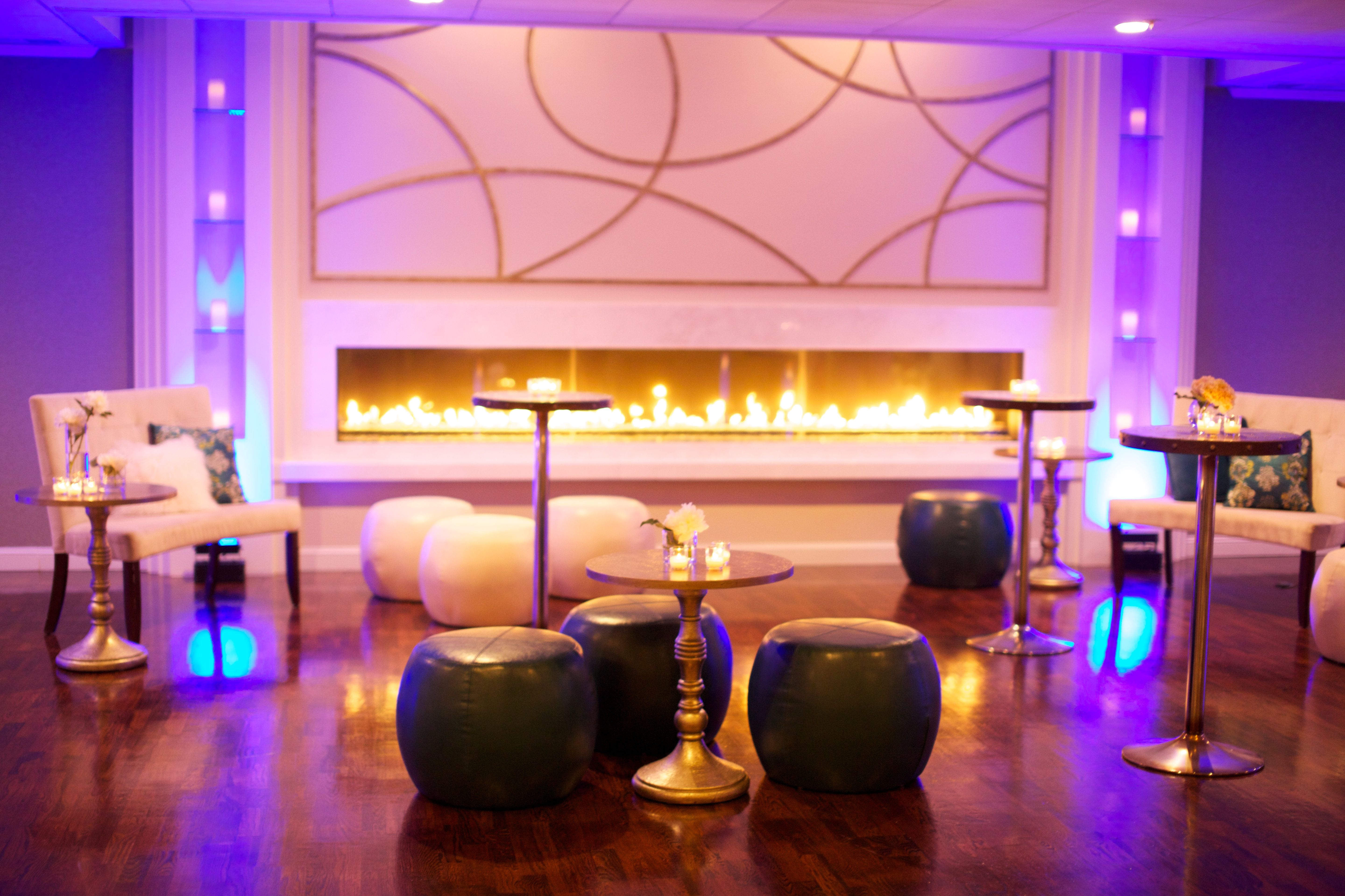 Our spectacular new fireplace and lounge set up in the Grand ...