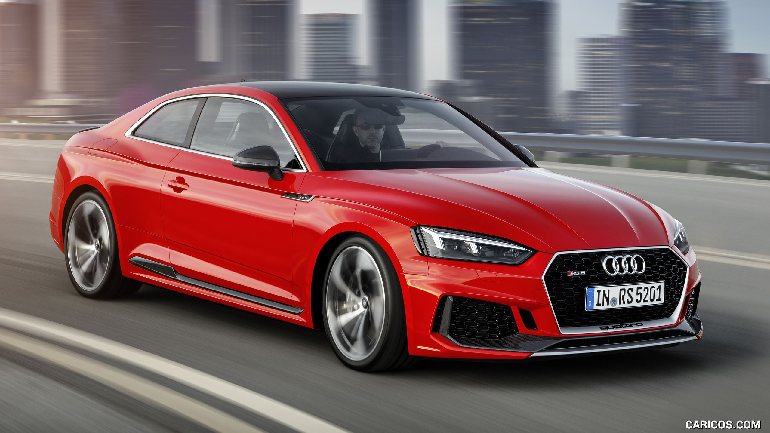 2018 Audi RS 5 Coupe (Color: Misano Red) - Front Three-Quarter HD