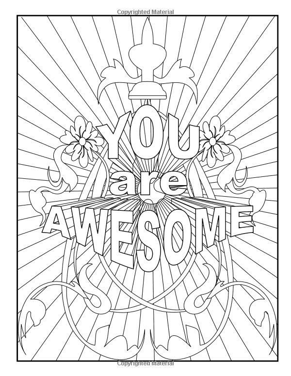 Amazon.com: Good Vibes Adult Coloring Book: Cheer Up