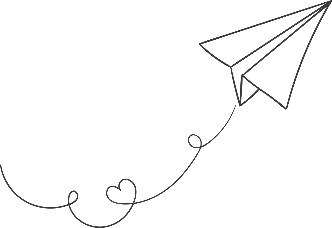 White Paper Plane Png Image